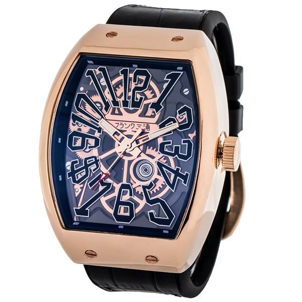 【国内正規品】FRANK三浦 フランク三浦 腕時計 FM11K-SK-RG メンズ 十一号機 ガンバルド クオーツ