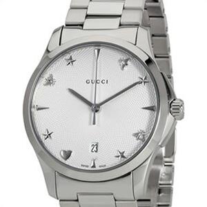 【並行輸入品】GUCCI グッチ 腕時計 YA1264028 メンズ Gタイムレス クオーツ