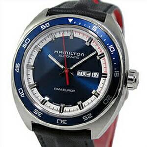 上品 HAMILTON ハミルトン 腕時計 HAMILTON H35405741 Europ メンズ 腕時計 Pan Europ パンユーロ 替えベルト付き, TRON:2a03f99f --- experiencesar.com.ar