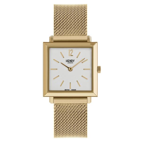 【並行輸入品】HENRY LONDON ヘンリーロンドン 腕時計 HL26-QM-0266 レディース HERITAGE SQUARE ヘリテージスクエア クオーツ