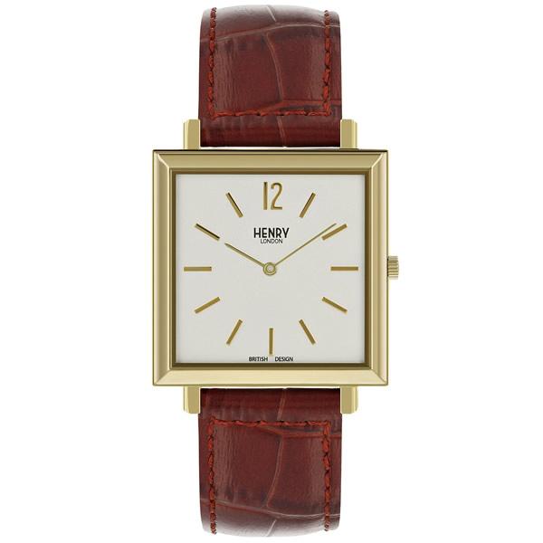 【並行輸入品】HENRY LONDON ヘンリーロンドン 腕時計 HL34-QS-0268 メンズ HERITAGE SQUARE ヘリテージスクエア クオーツ