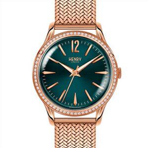 【並行輸入品】HENRY LONDON ヘンリーロンドン 腕時計 HL34-SM-0204 レディース STRATFORD ストラトフォード クオーツ
