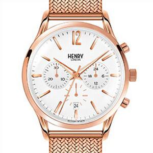 【並行輸入品】HENRY LONDON ヘンリーロンドン 腕時計 HL41-CM-0040 ユニセックス RICHMOND リッチモンド クロノグラフ