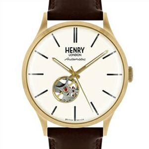【並行輸入品】HENRY LONDON ヘンリーロンドン 腕時計 HL42-AS-0280 ユニセックス HERITAGE ヘリテージ 自動巻き