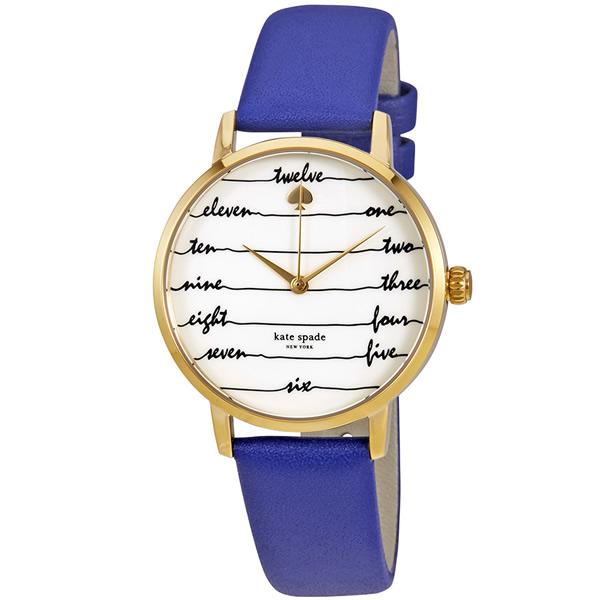 【並行輸入品】KATE SPADE ケイトスペード 腕時計 KSW1238 レディース METRO クオーツ
