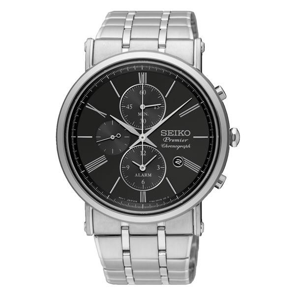 【並行輸入品】海外SEIKO 海外セイコー 腕時計 SNAF75P1 メンズ Premier プルミエ クロノグラフ クオーツ