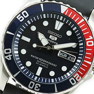 【並行輸入品】海外セイコー 海外SEIKO 腕時計 SNZF15J2 メンズ SEIKO5SPORTS セイコー5スポーツ 文字盤カラー ブラック