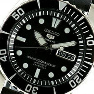 【並行輸入品】海外セイコー 海外SEIKO 腕時計 SNZF17J2 メンズ SEIKO5SPORTS セイコー5スポーツ 文字盤カラー ブラック