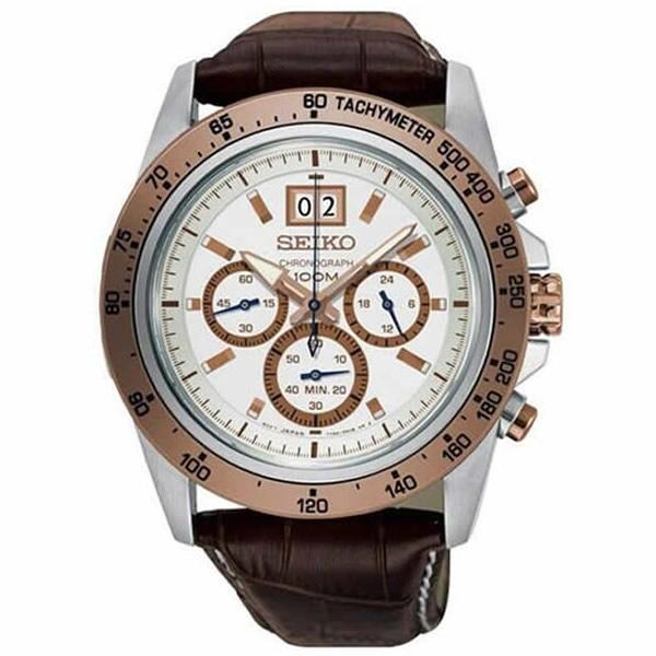 【並行輸入品】海外SEIKO 海外セイコー 腕時計 SPC246P1 メンズ クロノグラフ クオーツ