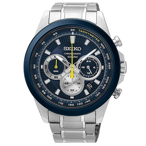 【並行輸入品】海外SEIKO 海外セイコー 腕時計 SSB251P1 メンズ クロノグラフ クオーツ
