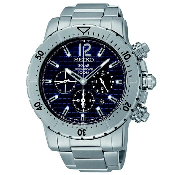 【並行輸入品】海外SEIKO 海外セイコー 腕時計 SSC221P1 メンズ クロノグラフ ソーラー