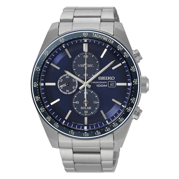 【並行輸入品】海外SEIKO 海外セイコー 腕時計 SSC719P1 メンズ クロノグラフ ソーラー