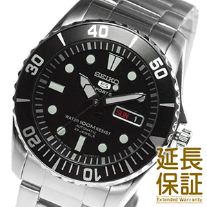 【レビュー記入確認後7年保証】【正規品】海外SEIKO 海外セイコー 腕時計 SNZF17J1 メンズ 男 新品 SEIKO5(セイコー5)自動巻き 文字盤カラー ブラック SNZF17JC