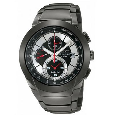【並行輸入品】海外セイコー 海外SEIKO 腕時計 SNAB35P1 メンズ アラーム クロノグラフ