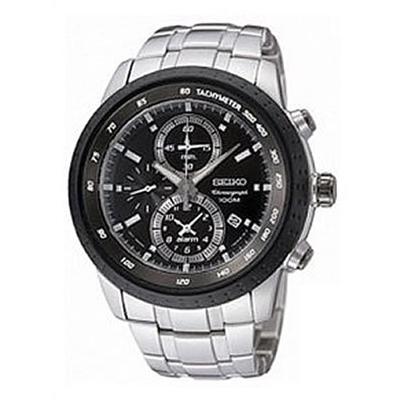 【並行輸入品】海外セイコー 海外SEIKO 腕時計 SNAB51P1 メンズ アラーム クロノグラフ