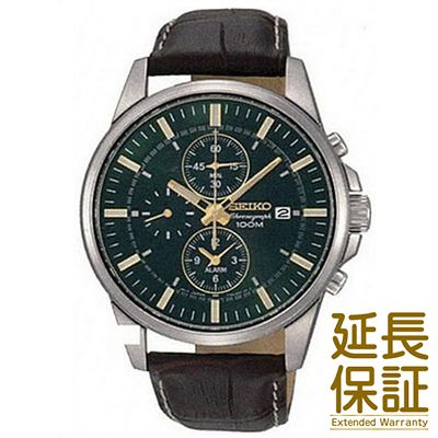 【正規品】海外SEIKO 海外セイコー 腕時計 SNAF09P1 メンズ アラームクロノ