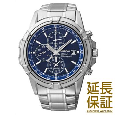 【国内正規品】海外SEIKO 海外セイコー 腕時計 SSC141P1 メンズ アラーム クロノグラフ ソーラー