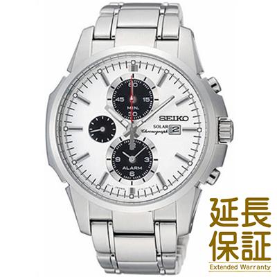 【正規品】海外SEIKO 海外セイコー 腕時計 SSC083P1 メンズ ソーラー アラーム クロノグラフ