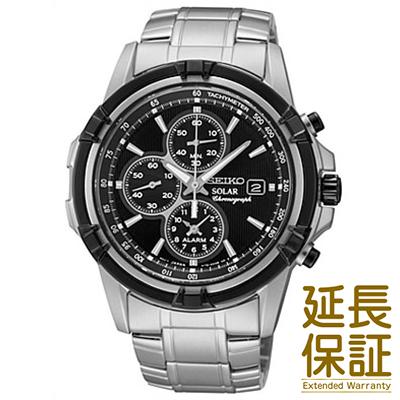 【並行輸入品】海外セイコー 海外SEIKO 腕時計 SSC147P1 メンズ ALARM アラーム Solar ソーラー Chronograph クロノグラフ