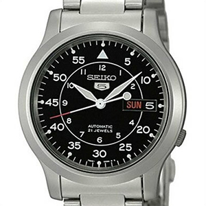 【並行輸入品】海外セイコー 海外SEIKO 腕時計 SNK809K1 メンズ SEIKO 5 自動巻き