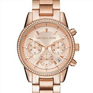 【並行輸入品】MICHAEL KORS マイケルコース 腕時計 MK6357 レディース RITZ?リッツ クロノグラフ クオーツ