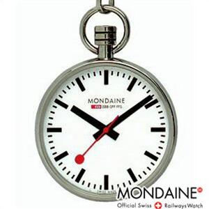 【正規品】モンディーン MONDAINE 時計 A6603031611SBB ポケットウォッチ Pocket Watch ポケットウォッチ