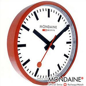 【正規品】モンディーン MONDAINE 時計 A990.CLOCK.11SBC 置時計 Wall Clock ウォールクロック