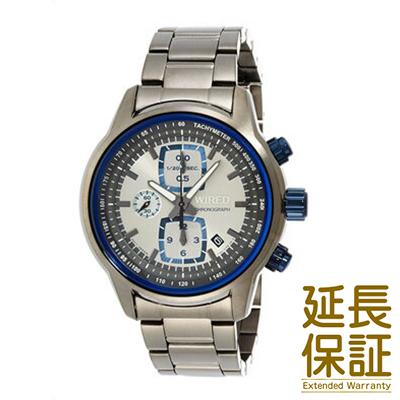 【国内正規品】WIRED ワイアード 腕時計 SEIKO セイコー AGAV112 メンズ リフレクション クロノグラフ