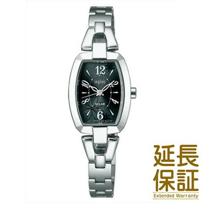 【国内正規品】ALBA アルバ 腕時計 SEIKO セイコー AHJD060 レディース ingenu アンジェーヌ ソーラー トノーフラワー