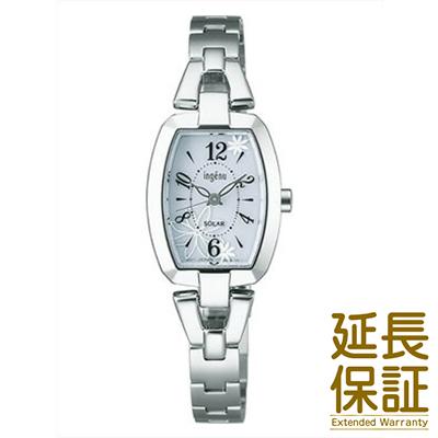 【国内正規品】ALBA アルバ 腕時計 SEIKO セイコー AHJD061 レディース ingenu アンジェーヌ ソーラー トノーフラワー
