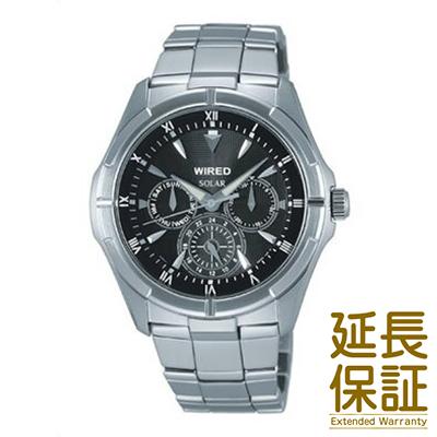 【国内正規品】WIRED ワイアード 腕時計 SEIKO セイコー AGAD032 メンズ NEW STANDARD MODEL ニュースタンダードモデル ソーラー