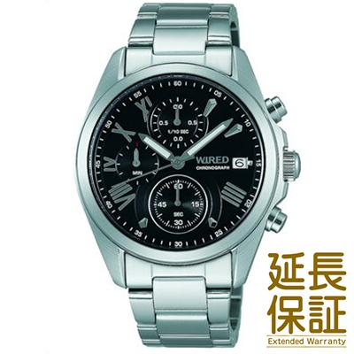【国内正規品】WIRED ワイアード 腕時計 SEIKO セイコー AGAT404 メンズ Chronograph クロノグラフ ペアモデル