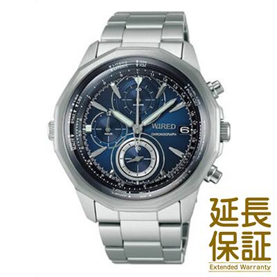【国内正規品】WIRED ワイアード 腕時計 SEIKO セイコー AGAW419 メンズ THE BULE ザ・ブルー SKY スカイ クロノグラフ