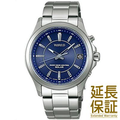 【国内正規品】WIRED ワイアード 腕時計 SEIKO セイコー AGAY010 メンズ ソーラー 電波