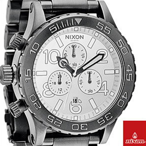 【並行輸入品】ニクソン NIXON 腕時計 A037 486 メンズ THE 42-20 CHRONO クロノグラフ