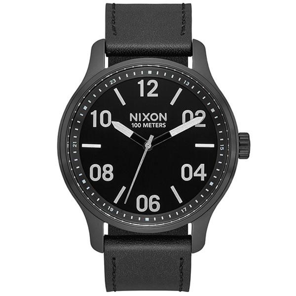 【並行輸入品】NIXON ニクソン 腕時計 A12432998 メンズ Patrol Leather クオーツ