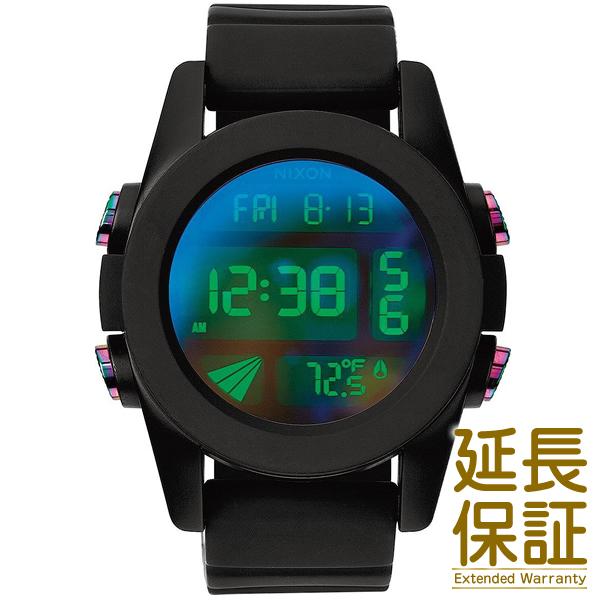 【並行輸入品】NIXON ニクソン 腕時計 A197-1630 メンズ THE UNIT ユニット BLACK/COSMOS ブラック/コスモス