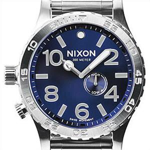 【並行輸入品】ニクソン NIXON 腕時計 A057 1258 メンズ 51-30 BLUE SUNRAY