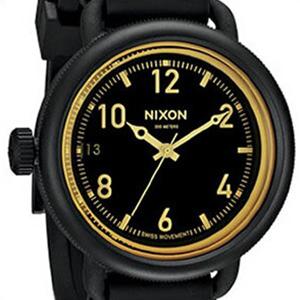 【並行輸入品】NIXON ニクソン 腕時計 A488 1354 メンズ THE OCTOBER オクトーバー マットブラック/オレンジティント