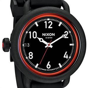 【並行輸入品】NIXON ニクソン 腕時計 A488 760 メンズ THE OCTOBER オクトーバー ブラック/レッド