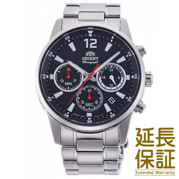 【国内正規品】ORIENT オリエント 腕時計 RN-KV0001B メンズ SPORTS スポーツ クロノグラフ クオーツ