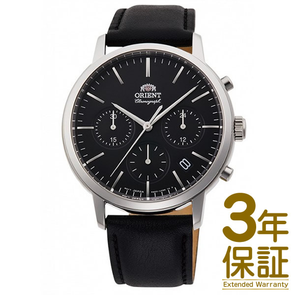 【国内正規品】ORIENT オリエント 腕時計 RN-KV0303B メンズ CONTEMPORARY コンテンポラリー クロノグラフ