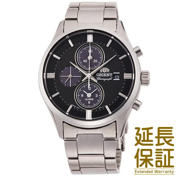 【国内正規品】ORIENT オリエント 腕時計 RN-TY0002B メンズ CONTEMPORARY コンテンポラリー クロノグラフ ソーラー