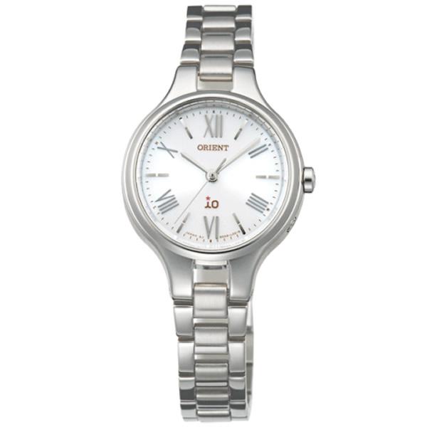 【正規品】ORIENT オリエント 腕時計 WI0111SD レディース iO イオ ナチュラル&プレーン ソーラー