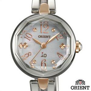 【3年延長保証】ORIENT オリエント 腕時計 WI0191WD レディース io イオ スイートジュエリー2 ソーラー