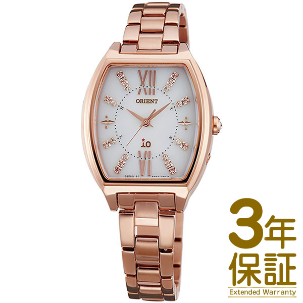 【国内正規品】ORIENT オリエント 腕時計 WI0201SD レディース iO イオ Sweet Jewelry スウィートジュエリー 電波ソーラー