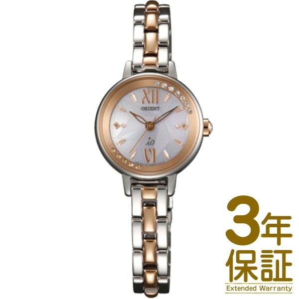 【3年延長保証】ORIENT オリエント 腕時計 WI0211WD レディース iO イオ Sweet Jewelry スイート ジュエリー コスメ SOLAR ソーラー