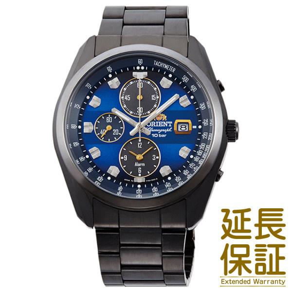 【国内正規品】ORIENT オリエント 腕時計 WV0081TY メンズ SPORTS スポーツ クロノグラフ ソーラー