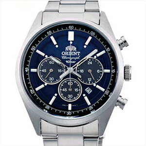 【3年延長保証】 ORIENT オリエント 正規品 腕時計 WV0021TX メンズ Neo70's ネオセブンティーズ クロノグラフ