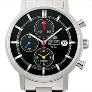 【3年延長保証】 ORIENT オリエント 正規品 腕時計 WV0061TY メンズ STYLISH AND SMART スタイリッシュ&スマート クロノグラフ